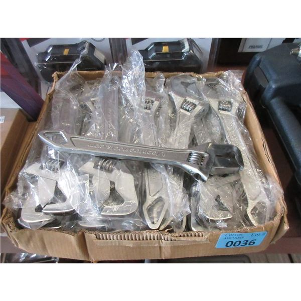 "Case of 30 New 10"" Crescent Wrenches"