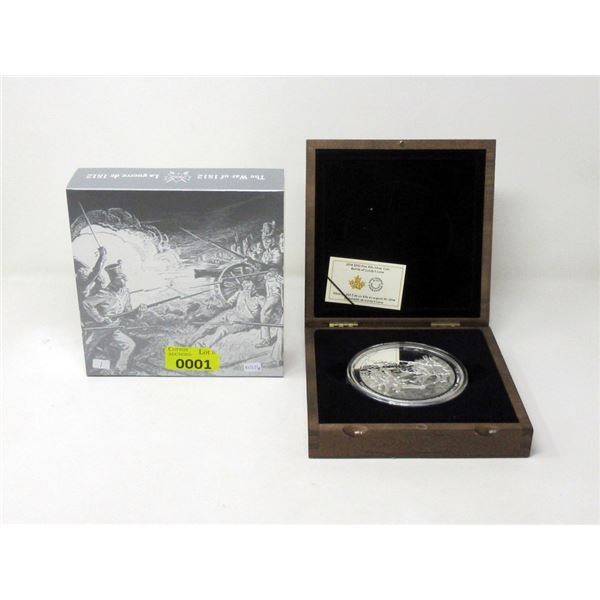 1 kg 2014 Battle of Lundy's Lane Fine Silver Coin