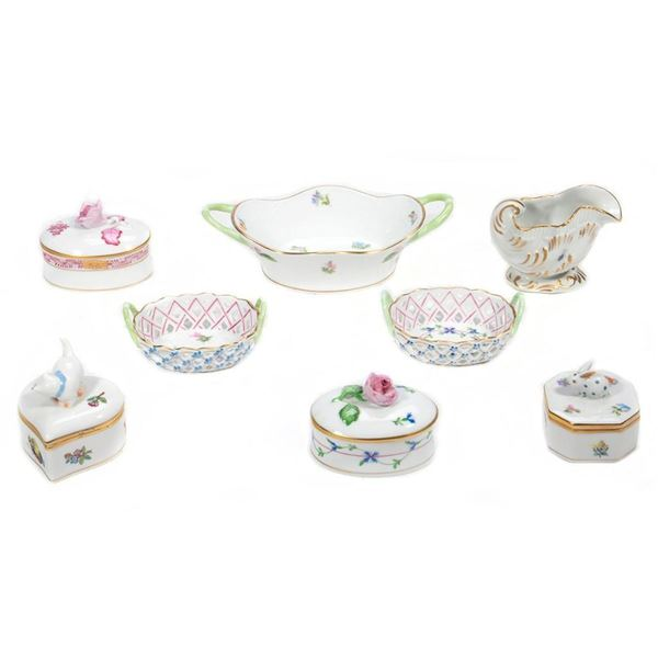 A Collection of Herend Porcelains