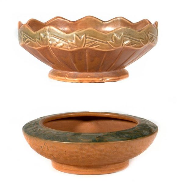 Two Arts & Crafts Bowls