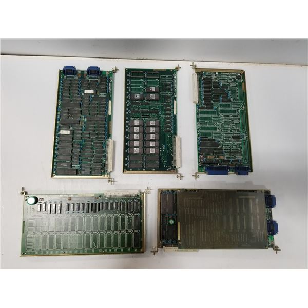 LOT OF MISC YASKAWA CIRCUT BOARDS *SEE PICS FOR PART #S*