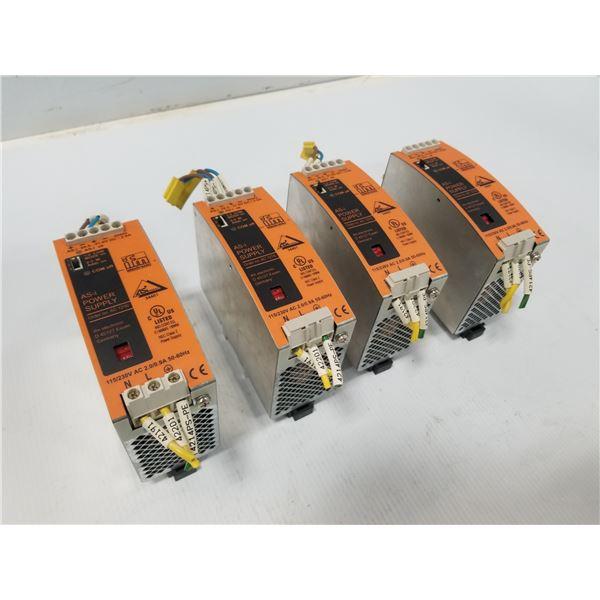 (4) IFM AC1216 POWER SUPPLY