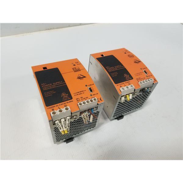 (2) FMI AC1218 POWER SUPPLY