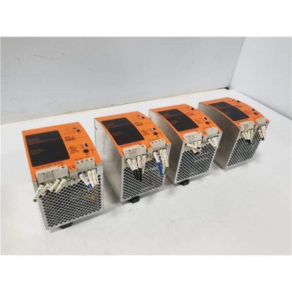 (4) IFM DN2033 POWER SUPPLY