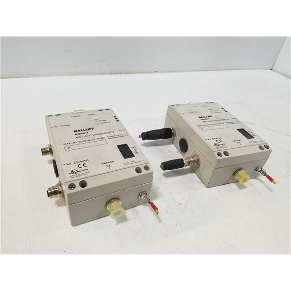(2) BALLUFF BIS C-6027-039-050-06-ST19 EVALUATION UNIT