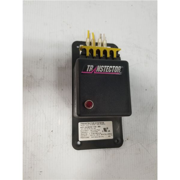 TRANSTECTOR ACP 100 BWN3 1100-954 SURGE PROTECTOR