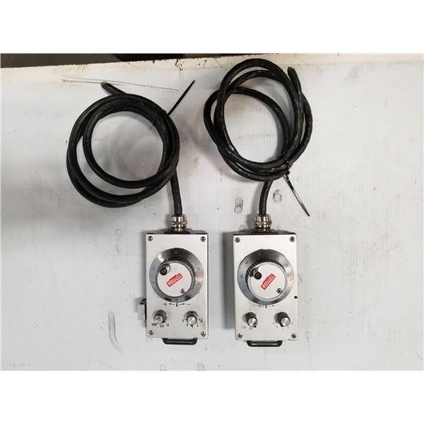 (2) NIDEC NEMICON HP-102A-500A HANDY PULSER