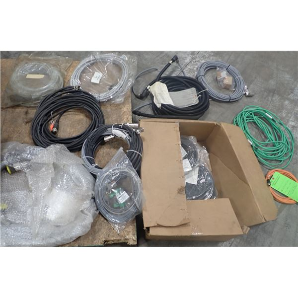 Lot of CNC Cables & Misc