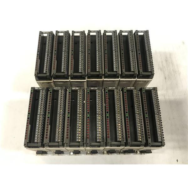 LOT OF SCHNEIDER TSX COMPACT AS-BDEP-216 MODULE