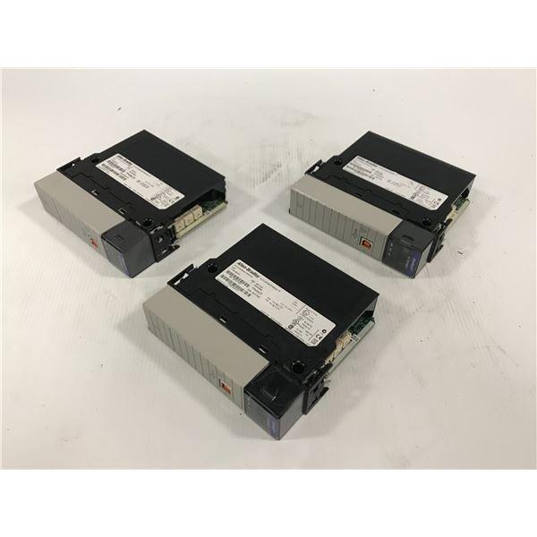(3) - ALLEN BRADLEY 1756-EN2T CLX HI-CAP ENET/IP MODULE -TP