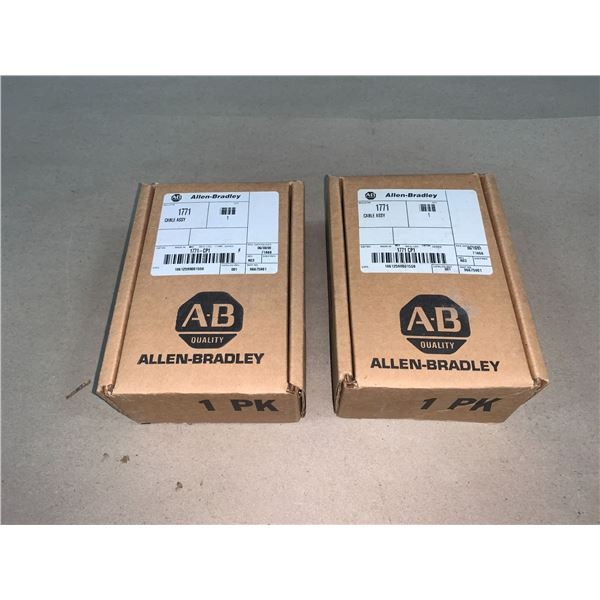 (2) - NEW ALLEN-BRADLEY 1771-CP1 CABLE ASSY