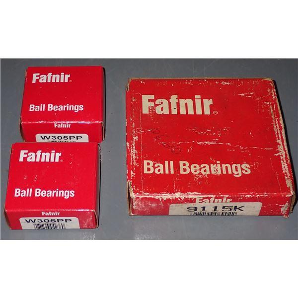 Lot of Fafnir Ball Bearings