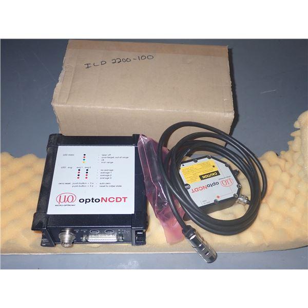 MICRO EPSILON #ILD2200-100 Laser optic CCD-way sensor