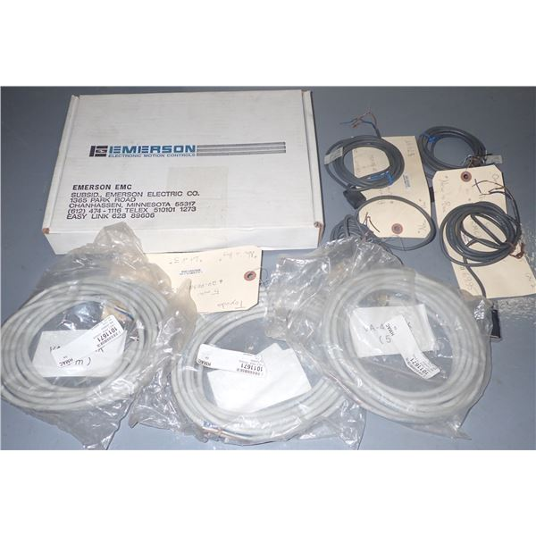 Lot of Cables, Prox Switches & Misc