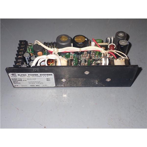 Elpac #EL41008 Power Supply
