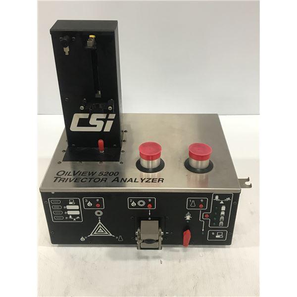 CSI B520000 OILVIEW 5200 TRIVECTOR ANALYZER
