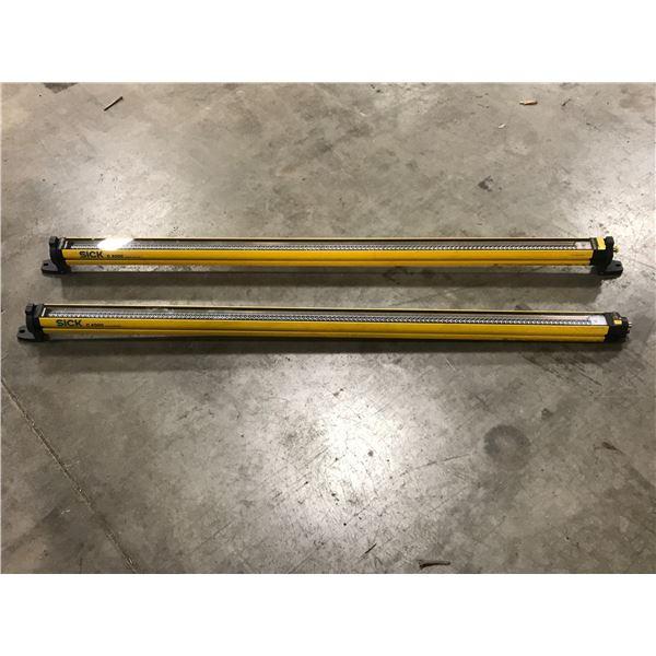 (2) SICK XC40S-1203A0A00BA0 / XC40E-1203A0A0CBA0 LIGHT CURTAINS