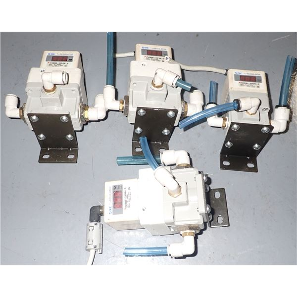 Lot of (4) SMC Units