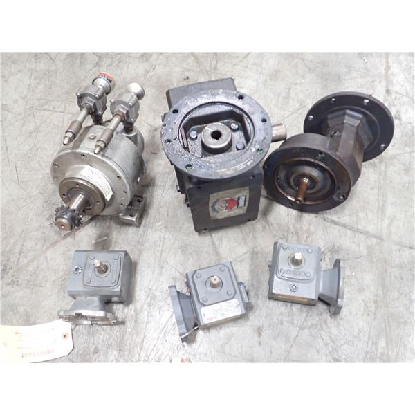 Lot of Gear Boxes & Misc