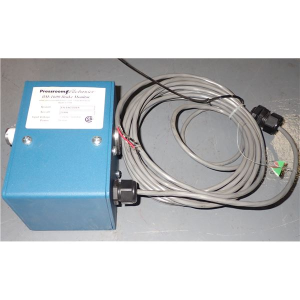 PRESSROOM ELECTRONICS #BM-1600 BRAKE MONITOR