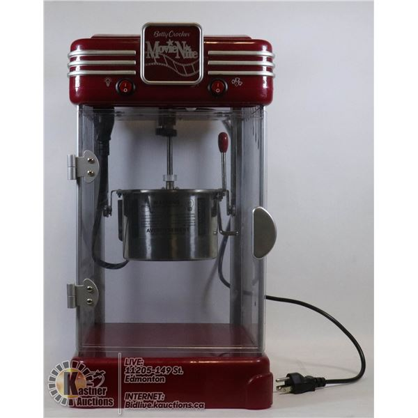 BETTY CROCKER MOVIE NIGHT POPCORN POPPER