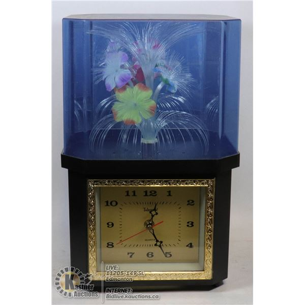 VINTAGE FIBER OPTIC CLOCK