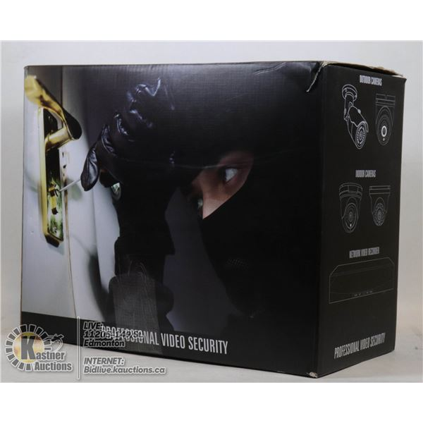 PROFESSIONAL VIDEO CAMERA SECURITY SYSTEM