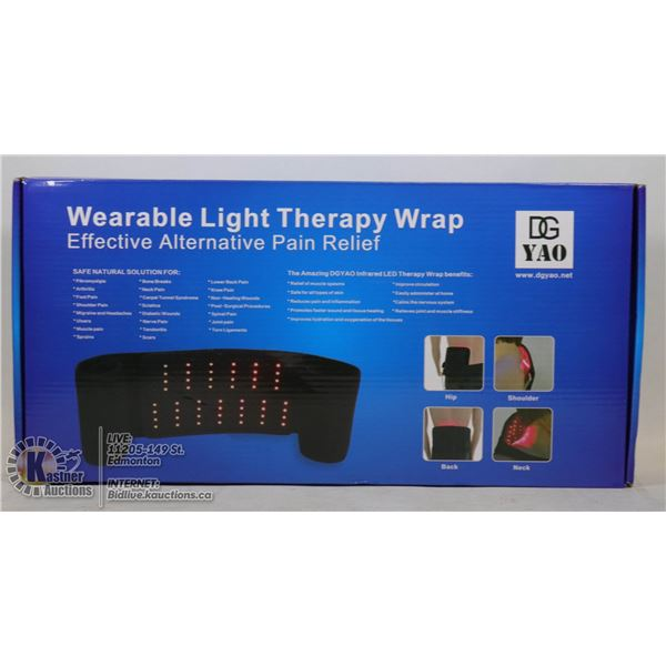 WEARALBE LIGHT THERAPY WRAP