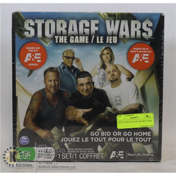 NEW STORAGE WARS BOARD GAME