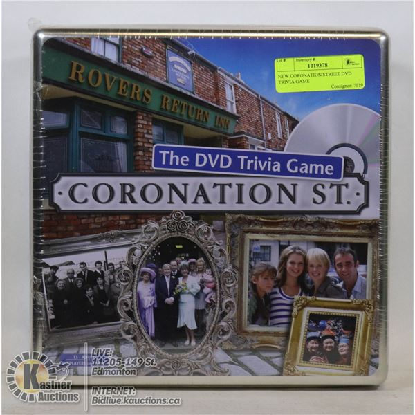 NEW CORONATION STREET DVD TRIVIA GAME