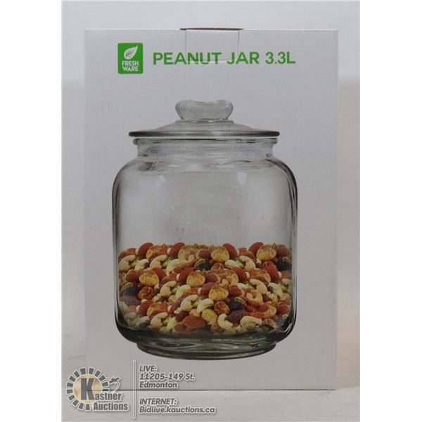 NEW 3.3L PEANUT STORE DISPLAY JAR