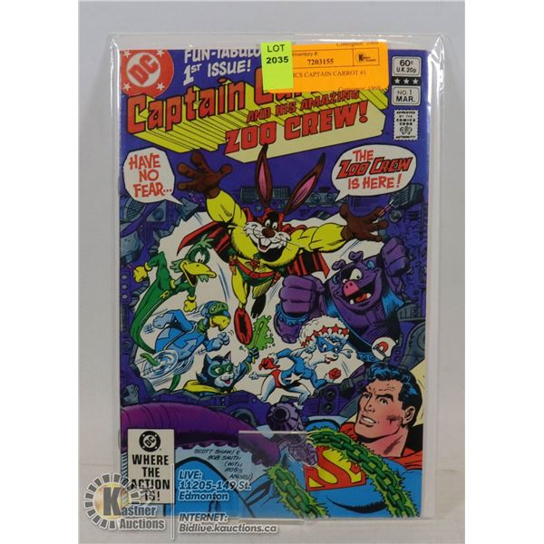 DC COMICS CAPTAIN CARROT #1