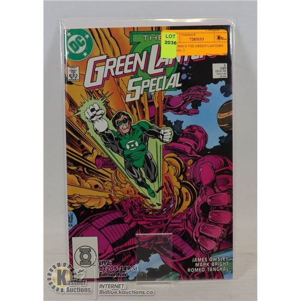 DC COMICS THE GREEN LANTERN SPECIAL 2