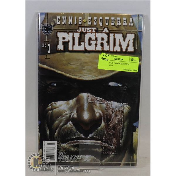 BLACK BULL COMICS JUST A PILGRIM #1-5