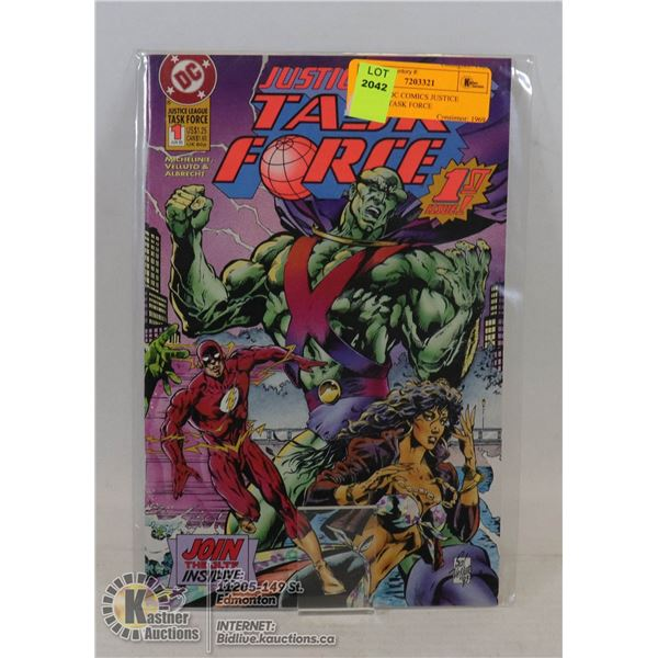 #1 ISSUE DC COMICS JUSTICE LEAGUE TASK FORCE