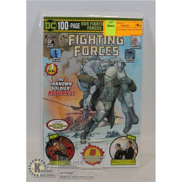 #1 ISSUE DC COMICS OUR FIGHTING FORCES