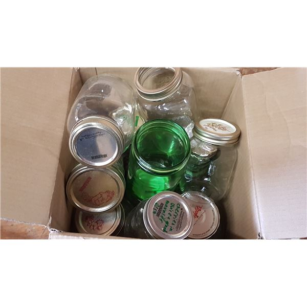 Lot Sealer Jars
