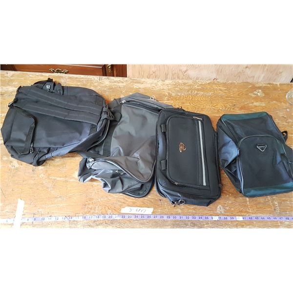 4 Various Handbags & Backpack