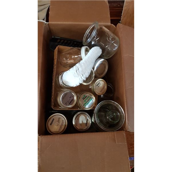 Lot Sealer Jars & Misc.