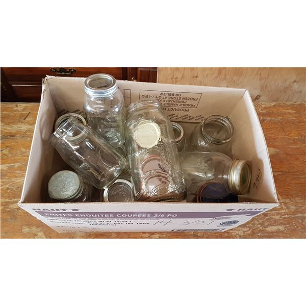 Lot Sealers & Vintage Glassware