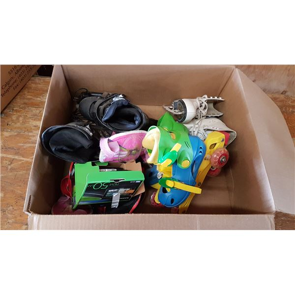 Lot Inline Skates & Misc. Items