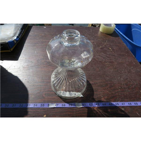 coal oil lamp base
