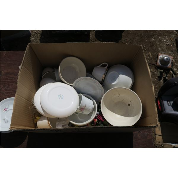 Lot of china + misc