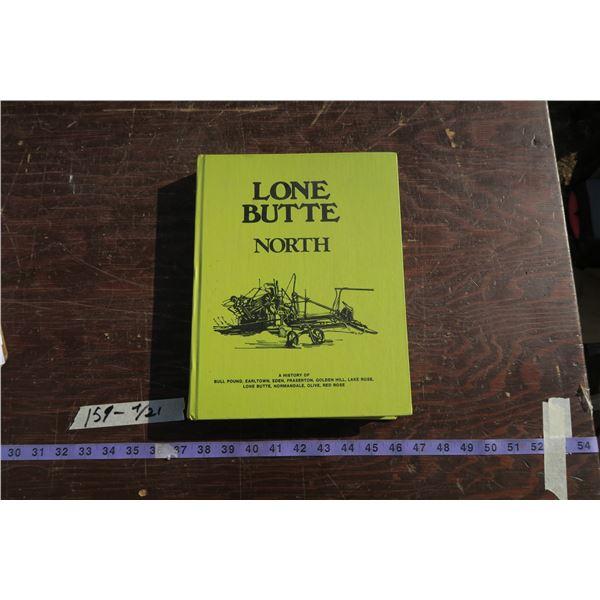 Lone Butte regional history book