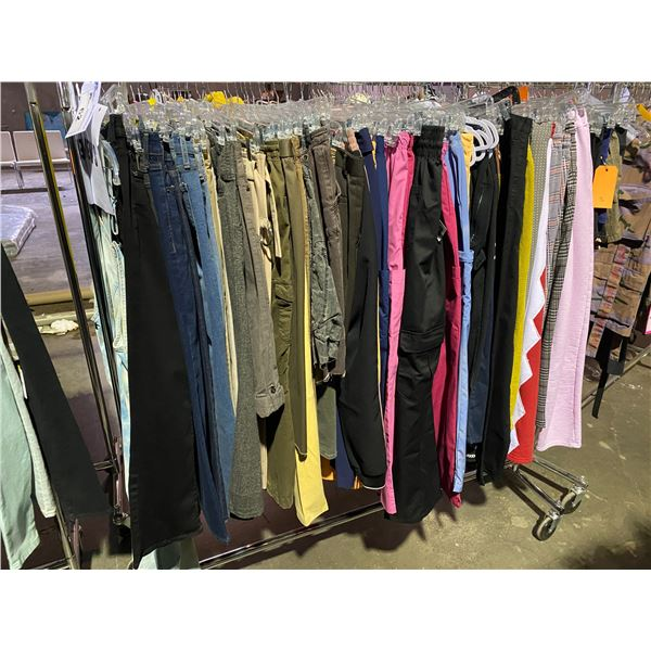 ASSORTED CLOTHING BRANDS SUCH AS : ZARA, URBAN OUTFITTERS, 7 FOR ALL MANKIND RACK INCLUDED