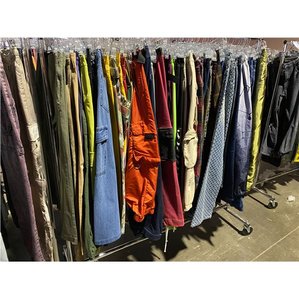 ASSORTED CLOTHING BRANDS SUCH AS : JADED, FOREVER 21, BDG, & MORE RACK INCLUDED