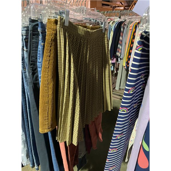 ASSORTED PANTS/SHOTS BRANDS SUCH AS : GAP, OLD NAVY, ZARA, & MORE RACK INCLUDED