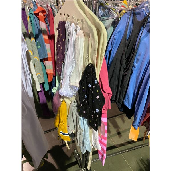 ASSORTED CLOTHING BRANDS SUCH AS : ZARA, HM, GAP, & MORE RACK INCLUDED