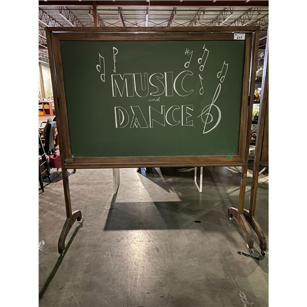 ROLLING/ROTATING CHALK BOARDS