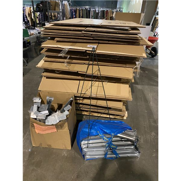 ASSORTED WARDROBE BOXES